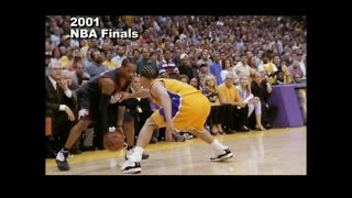 Download Greatest Moments in NBA History - Allen Iverson ″Step Over″ Tyronn Lue NBA Finals 2001 Video