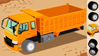 Download Trucks for Children Kids - Construction Game Cartoon for Children | Learm Videos for Kids Video