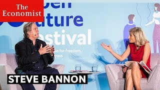 Download Steve Bannon interviewed by Zanny Minton Beddoes | The Economist Video