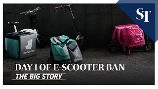 Download THE BIG STORY: Day 1 of e-scooter ban   The Straits Times Video