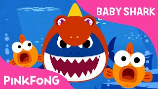 Download Baby Shark Wearing a Dinosaur Costume! | Animal Songs | PINKFONG Songs for Children Video