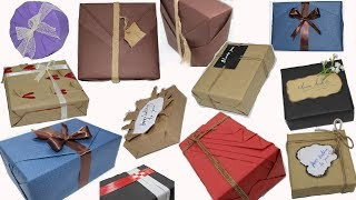 Download Top 10 Gift Wrapping Techniques, New ideas for gift wrapping || How to Wrap a Gift Video