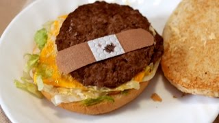 Download BAND-AID ON FAST FOOD BURGER! Video