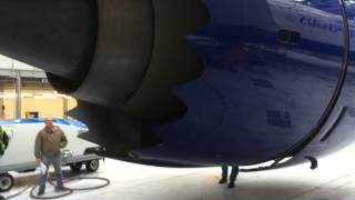 Download Boeing 787-8, Trent 1000, Thrust Reverser operation. Video