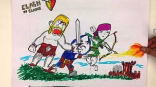 Download Clash of Clans Türkçe: Tonguç Akademi Ziyareti Video