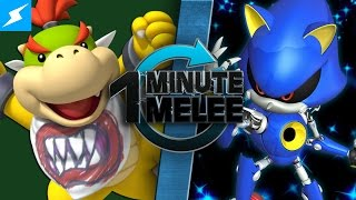 Download One Minute Melee - Bowser Jr vs Metal Sonic (Nintendo vs SEGA) Video