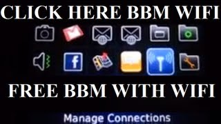 Download Using your BBM with WI-FI FOR FREE Video