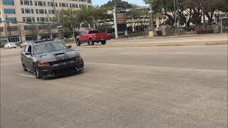 Download HOUSTON CARS AND COFFEE MARCH 2018 TAKEOFFS (CHARGER ALMOST CRASHES) Video