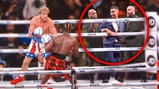 Download SNEAKING Into KSI Vs Logan Paul Rematch (in the ring) Video