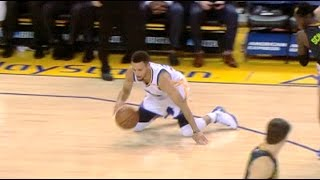 Download Steph Curry Falls Down, Gets Back Up And Hits The Jumper Video