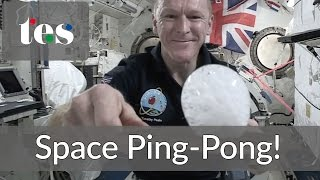 Download Space Ping-Pong! Astronaut Tim Peake on the ISS #CosmicClassroom Video
