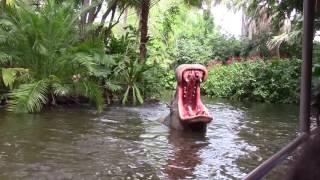 Download The Jingle Cruise 2016 - The Magic Kingdom Holiday Jungle Cruise Ride POV Video