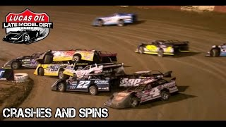 Download Late Model Dirt Series - 2017 - WinterNationals - Crashes And Spins Video