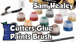 Download Citadel Essentials Cutters Glue Paints Brush with Sam Healey Video