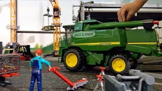 Download BRUDER TRACTORS for Children FARM WORLD all machines in! LONG PLAY in JACK'S WORLD Video