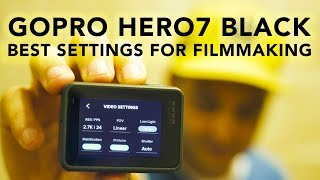 Download The Absolute BEST Settings for the GoPro Hero7 Black | RehaAlev Video
