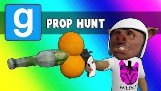 Download Gmod Prop Hunt Funny Moments - 2 Oranges + Bottle = Win (Garry's Mod Little Hunter Edition) Video