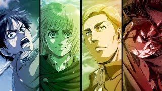 Download Attack on Titan Season 3 Part 2 - Opening Full『Shoukei to Shikabane no Michi』by Linked Horizon Video