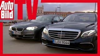 Download Mercedes E-Klasse (W213) (2016) gegen 5er BMW (F10) - Erster Vergleich Video