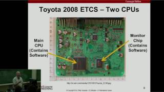 Download A Case Study of Toyota Unintended Acceleration and Software Safety Video
