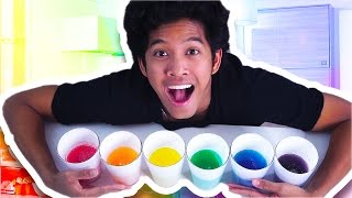 Download DIY RAINBOW JELLO SODA!!! BLIND TASTE TEST!! Video