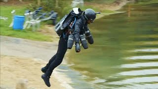 Download Watch: British inventor sets jet suit world record Video