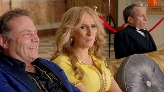 Download Sapphire arrives for her lunch date with Len - Billionaire Boy: Preview - BBC One Christmas 2015 Video