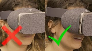 Download You're wearing it wrong! How to adjust Google's Daydream headset Video