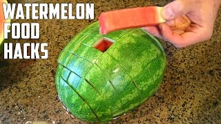 Download 5 AWESOME Watermelon Food Life Hacks You Should Try! Video