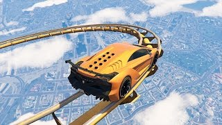 Download EXTREME GTA 5 ROLLER COASTER RACE! (GTA 5 Funny Moments) Video