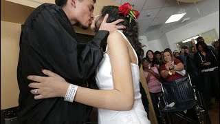Download Bride fulfills her dying wish to get married Video