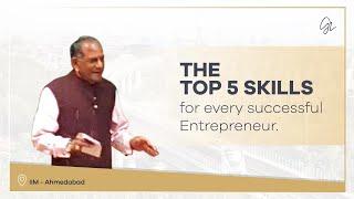 Download IIM Ahmedabad Lecture Aug. 2015 - Entrepreneurship Skills Video