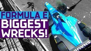 Download Biggest Crashes In Formula E History! | ABB FIA Formula E Championship Video