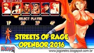 Download Streets of Rage Z: Return of the Hero OpenBOR 2016 Video