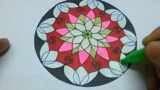 Download Draw channel/Vẽ trang trí hình tròn thật đơn giản/draw circles and decorate Video