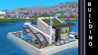 Download The Sims 3 Into The Future - Building a House in Utopia (Oasis Landing) Video