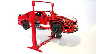 Download LEGO Car Lift, can lift more than 3KGS!! by Sheepo Video