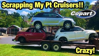 Download Taking My Parts PT Cruisers From Copart Salvage Auction To The Scrapyard Video