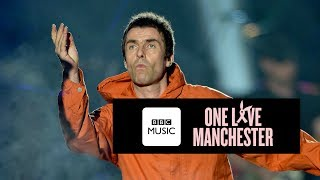 Download Liam Gallagher and Coldplay - Live Forever (One Love Manchester) Video