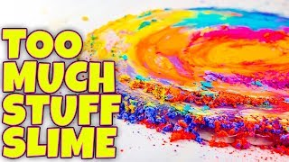 Download SLIME WITH TOO MANY INGREDIENTS! TESTING SLIME BY ADDING TOO MUCH STUFF! Video