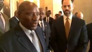 Download CI Africa speaks with Cote D'Ivoire Prime Minister Daniel Kablan Duncan at US Chamber of Commerce Video