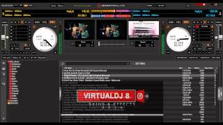Download SERATO DJ SKIN V1.3 AND LATEST SKINS & PLUGINS FOR VDJ8 Video