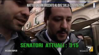 Download Matteo Salvini bocciato al quiz sulla Costituzione Video