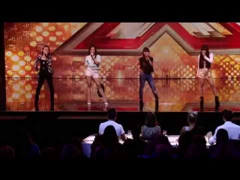 4th Power - Bang Bang (The X Factor UK 2015) [Audition]
