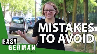 Download 4 Mistakes to avoid when starting to learn German | Super Easy German (79) Video