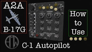 Download Using the C-1 Autopilot - FSX A2A B17G Flying Fortress Video