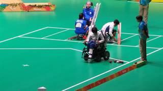 Download Rio Paralympic Boccia BC3 Individual event Final match 1st end Video