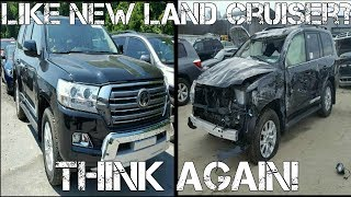 Download New $85k Toyota Land Cruiser LOOKS Perfect BUT is Hiding SEVERE Damage at the Salvage Auction Video