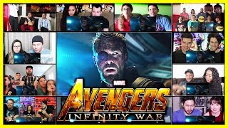 Download Avengers Infinity War Trailer Reactions Mashup Video