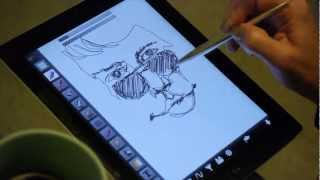 Download Create on Your Tablet Like Pen on Paper - GoSmart Stylus Video